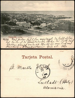 Postales La Orotava Stadtblick - Teneriffa Teneriffe 1899 - Non Classés