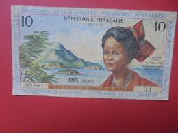 GUYANE FRANCAISE 10 FRANCS (ND) 1964 WPM N°8 Signature N°1 Circuler (B.22) - French Guiana