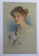 Künstlerkarte, Frauen, Mode, Haarmode, 1917 ♥ (46426) - 1900-1949