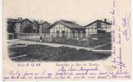 57 BAN SAINT MARTIN Metz Baraken Baraquement1898 Zug 406 Metz- Koblenz Moselle Lorraine Pour Luxembourg - Andere Gemeenten