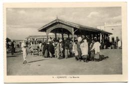 RC 20952 DJIBOUTI LE MARCHÉ CARTE POSTALE - POSTCARD - Djibouti