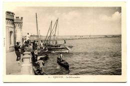 RC 20953 DJIBOUTI LE DÉBARCADÈRE CARTE POSTALE - POSTCARD - Djibouti
