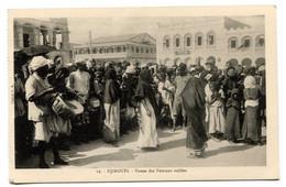 RC 20955 DJIBOUTI DANSE DES FEMMES VOILÉES CARTE POSTALE - POSTCARD - Djibouti