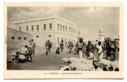 RC 20959 DJIBOUTI LE MARCHÉ AUX BESTIAUX CARTE POSTALE - POSTCARD - Djibouti