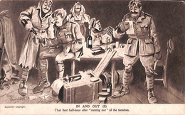 """""""Humour""""  First Half-hour After Coming-out Of The Trenches (Bruce Bairnsfather) (fixed Price) - Humor"""