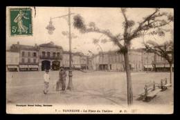 47 - TONNEINS - PLACE DU THEATRE - Tonneins