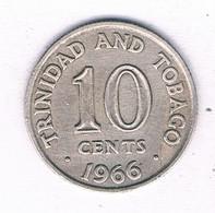10 CENTS 1966 TRINIDAD AND TOBAGO /3142/ - Trinidad & Tobago
