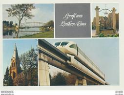 AK  Monorail Lathen Ems - Trenes