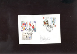 W Olympic 1994  Cover, Lettre, Brief Of Hungary  Hockey - Winter 1994: Lillehammer