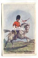 Royal Scots Greys - Lancer On Horse - 1905 Used Postcard - Regimientos