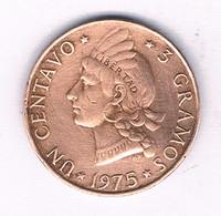1 CENTAVO 1975  DOMINICAANSE REPUBLIEK /3150/ - Dominicana