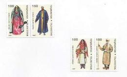 TADZHIKISTAN - 1998 - Costumes - Perf 2 X 2 Pairs - Mint Lightly Hinged - Tajikistan
