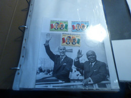 DESTOCKAGE- COTE D IVOIRE  ENVRIRON 55 LETTRES PREMIER JOUR 1978-1981 + TIMBRES SOUVENT EN BLOCS NEUFS** - Ivory Coast (1960-...)
