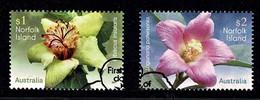 Norfolk Island 2017 Flowers Set Of 2 Used - Norfolk Island
