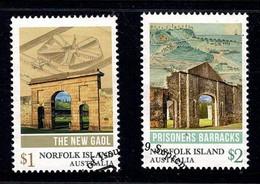 Norfolk Island 2017 Convict Heritage Set Of 2 Used - Norfolk Island