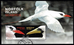 Norfolk Island 2016 Seabirds Minisheet Used - Norfolk Island