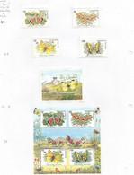 TADZHIKISTAN - 1998 - Butterflies And Moths - Perf 4v Set, Souv Sheet & 4v Souv Sheet - Mint Lightly Hinged - Tajikistan