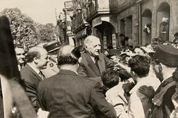[33] Gironde > Langon 15 Avril 1961 Visite Du Gal De Gaulle Place Maubec Photographie Archives Journal Sud Ouest - Langon