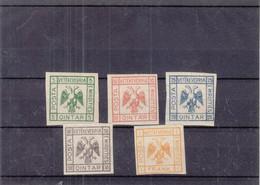 Albanie - Timbres Taxe De Mirdit De 1921 * - - Albania