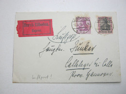 1919 , Berlin , Früher Luftpostbrief - Covers & Documents