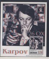 GRENADA  2001 KARPOV  SCOTT N°3385 NEUF MNH** - Chess