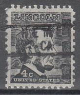Locals USA Precancel Vorausentwertung Preo, Locals California, Hemet 837 - Precancels