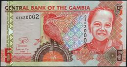 ♛ GAMBIA - 5 Dalasis Nd.(2006-2014) UNC P.25 C - Gambia