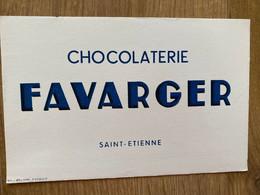 BUVARD FAVARGER - Cocoa & Chocolat