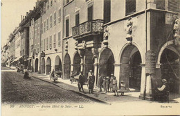 ANNECY  Ancien Hotel De Sales Animée RV - Annecy