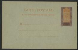 HAUT SENEGAL ET NIGER COTE 80 € Carte Entier Postal Neuve Type Méhariste. ACEP N° 5. TB. Voir Description - Covers & Documents