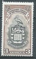 Antigua YT N°101 Université Des Antilles Anglaises Neuf ** - 1858-1960 Kolonie Van De Kroon