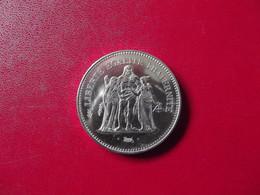 50 F  Hercule Argent 1975 - M. 50 Francos