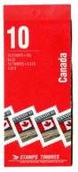 RC 20963 CANADA FLAG AVEC PUBLICITÉ AU VERSO CARNET COMPLET BOOKLET MNH NEUF ** - Libretti Completi
