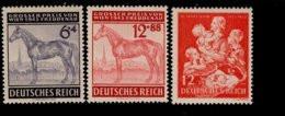 Deutsches Reich 857 - 859 Preis Von Wien / Winterhilfswerk MNH Postfrisch ** Neuf - Nuevos