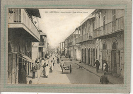 CPA - SAINT-LOUIS (Sénégal) - Aspect De La Rue André Lebon En 1900 - Senegal