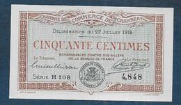 Chambre De Commerce De CHAMBERY -  50 Centimes - Pirot N° 7 - Chamber Of Commerce