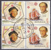 Rumänien 2005 - Mi.Nr. 5974 - 5975 A - Gestempelt Used - 50 Jahre Euorpa CEPT - Usado