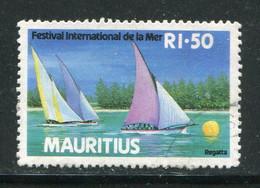 MAURICE- Y&T N°677- Oblitéré - Mauritius (1968-...)