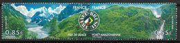 France 2008 N° 4255/4256 Neufs En Paire Paysages De France Et Brésil à La Faciale - Nuevos