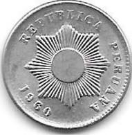 *peru 1 Centavo 1960  Km 227  UNC/MS63 - Peru