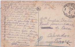 14-18 CP Bruges Brugge Moulins Molen PMB 5 -  29 X 1918 Retraite Allemande  !  Vers Hauts Fourneaux De CAEN Calvados - Invasion