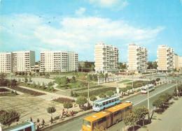 Moldavie Moldavia Kishinev Ryshkanovka Housing Estate Bus Autobus Autocar Car Immeuble Immeubles Habitation Logement - Moldavië
