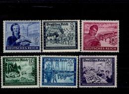 Deutsches Reich 888 - 893 Kameradschaftsblock  MNH Postfrisch ** Neuf - Nuevos