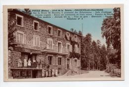 - CPA POULE (69) - Hôtel De La Scierie - CHUZEVILLE-CHANRION (belle Animation) - Photo CIM - - Sonstige Gemeinden