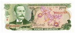 Costa Rica - 5 Colones 1986 - Costa Rica