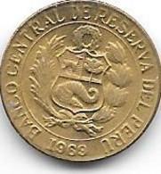 *peru 5 Centavos 1969  Km 244.2 Bu - Peru