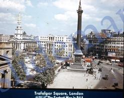 50s PAA PAN AM AMERICAN AIRWAYS LONDON ENGLAND UK 35mm SLIDE PHOTO FOTO O22 - Diapositives (slides)