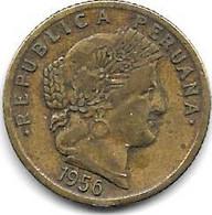 *peru 10 Centavos 1956  Km 244.2 - Peru