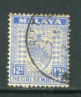 NEGRI SEMBILAN- Y&T N°30- Oblitéré - Negri Sembilan