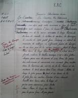 G 25 Facture/document Entete Devoir écolier  école De La Poitevinière - Diploma & School Reports